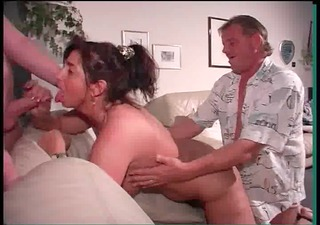 aged german threesomes