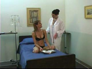 juvenile girl and mature lesbian doctor