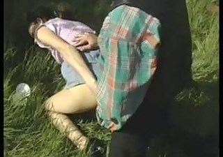 euro milf gets a rough anal fuck out on the farm