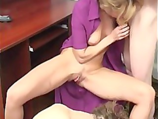 home russian mature mother with boys