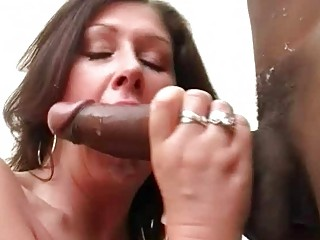 big breasted slut wife fucks black hunk in sexy