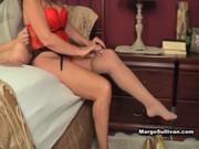 margo sullivan - mom wakes son up for morning sex