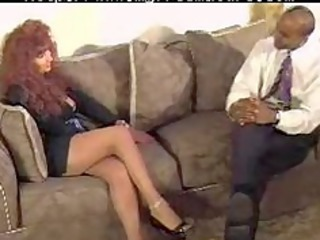 redhead milf acquires fucked by bbc mature older