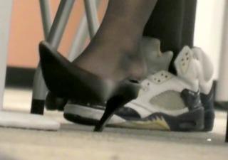 aged pretty feet &; heels