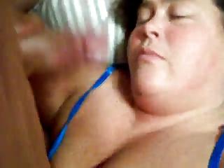older woman give head (bbw)